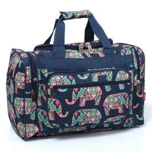 Handbags - Groovy Elephants Duffel Bag